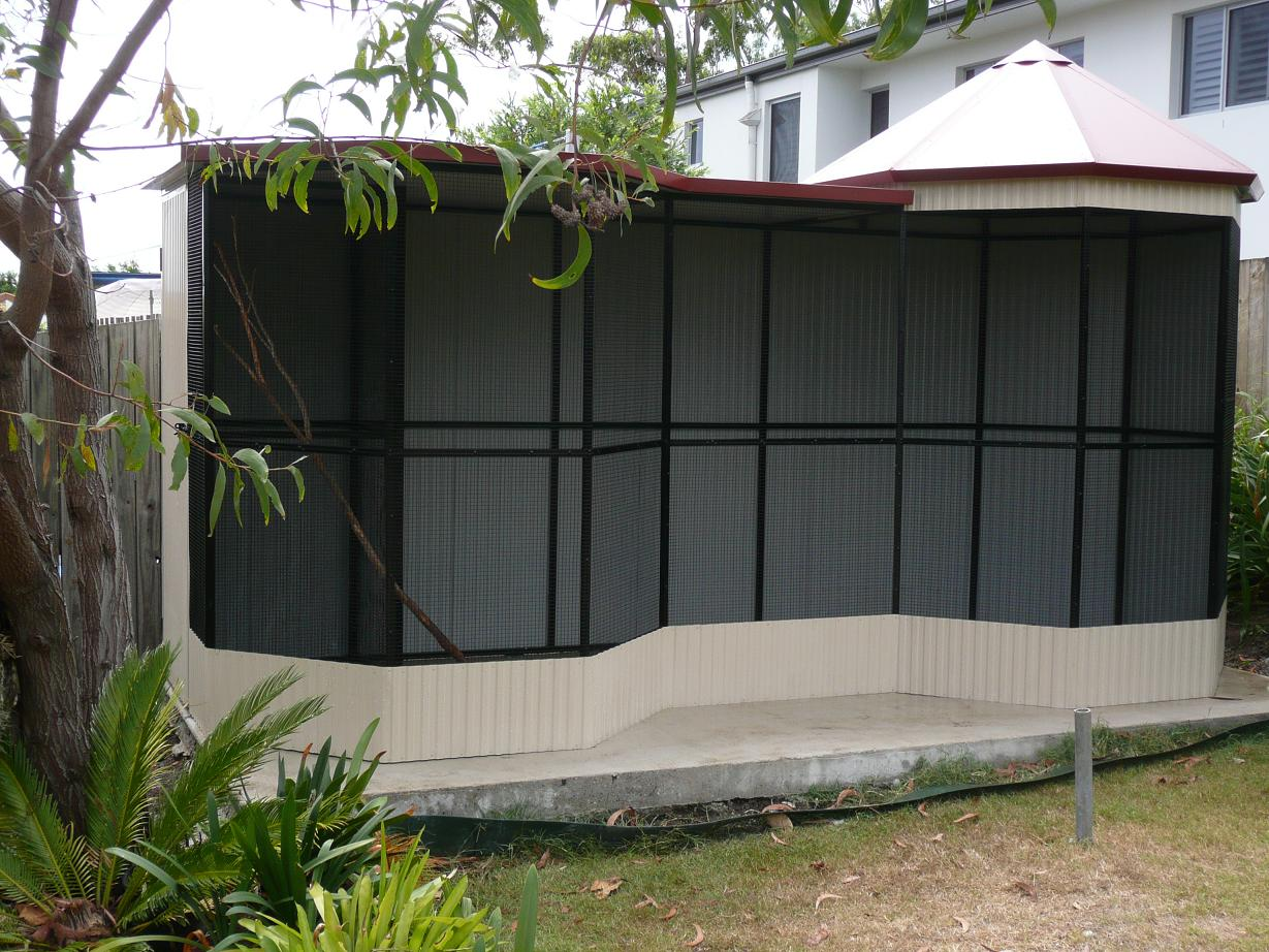 Conventional Style Custom Built Aviaries