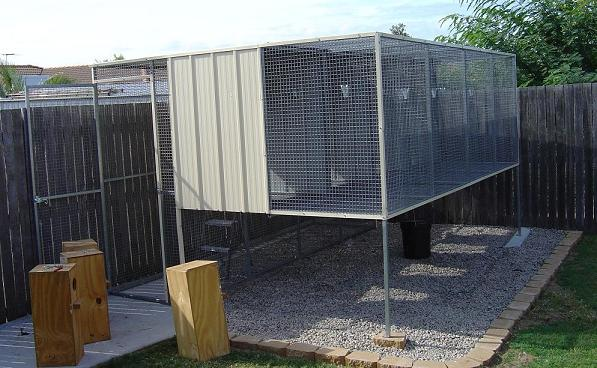 Suspended Custom Built Aviaries